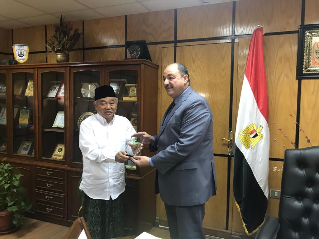 IKHAC Jajaki Kerjasama dengan Universitas Al Azhar Mesir