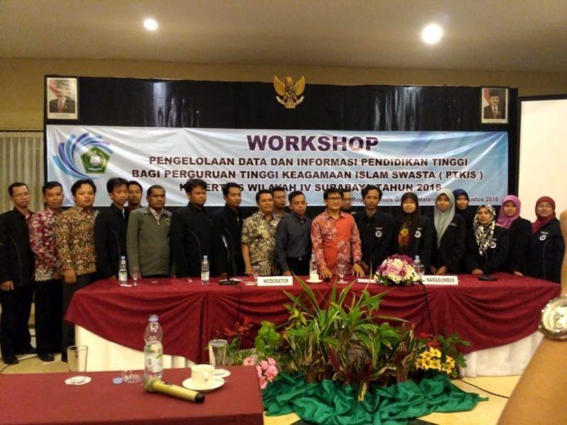 BAAK IKHAC Apresiasi Workshop Pengelolaan Data Dikti bagi PTKIS