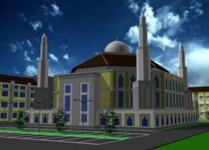 Pembangunan Masjid Institut KH. Abdul Chalim