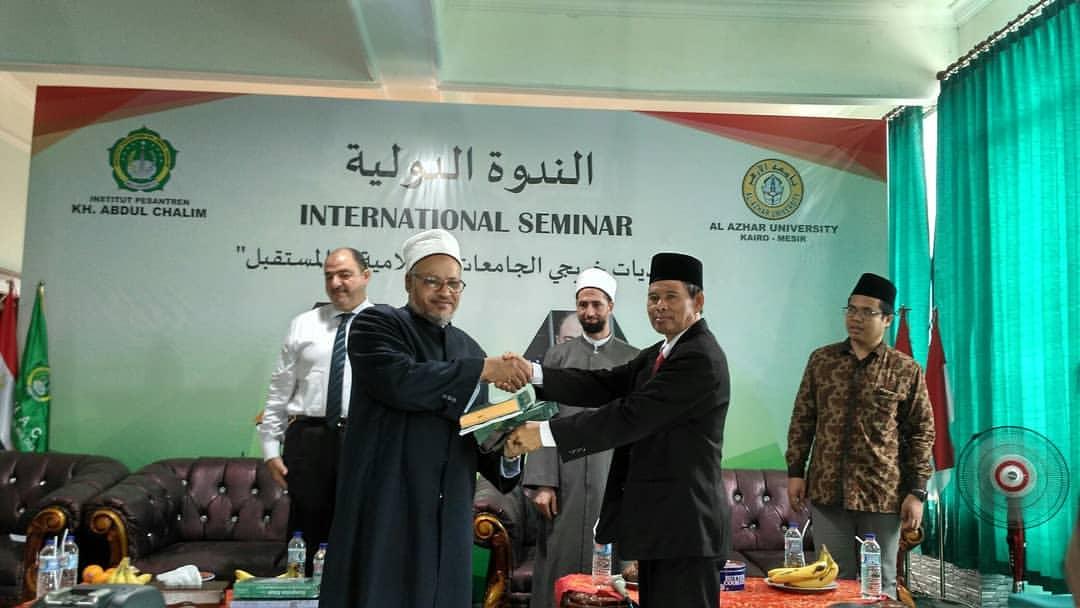 Wakil Rektor al-Azhar Mesir Sambut Ajakan MoU Kampus IKHAC
