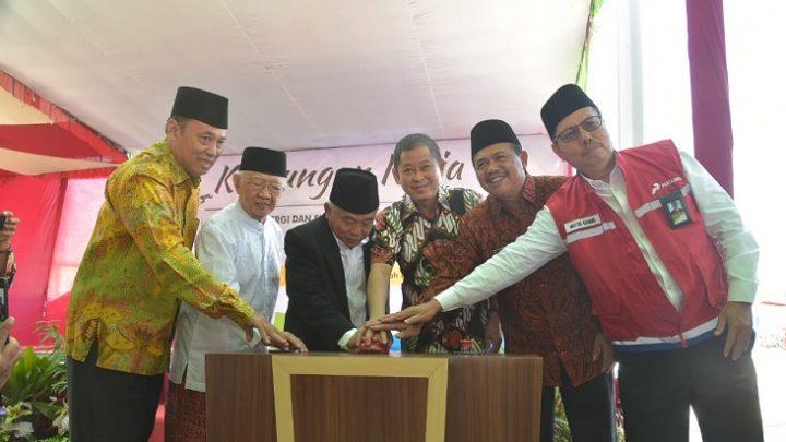 Menteri ESDM Resmikan SPPBE Ponpes Amanatul Ummah Pacet, Mojokerto