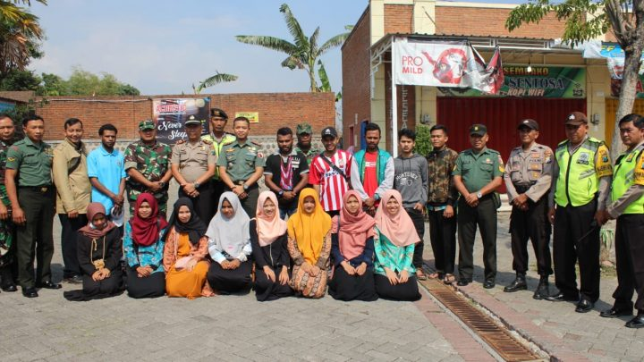 DANDIM 0815/Mojokerto Gelar Silaturahmi dengan Mahasiswi Papua dan bebarapa daerah dari Indonesia Timur di Mojokerto