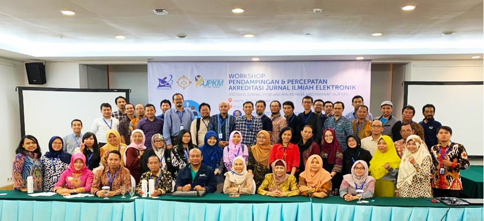 WORKSHOP PENDAMPINGAN DAN PERCEPATAN AKREDITASI JURNAL ILMIAH